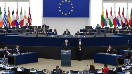 Séance plénière du Parlement européen, le 12 mars 2019.