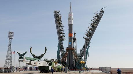 La fusée Soyouz MS-12 (image d'illustration).