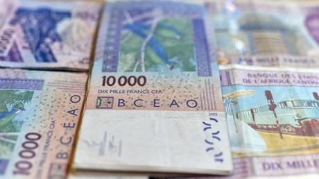 Des billets en francs CFA (image d'illustration).