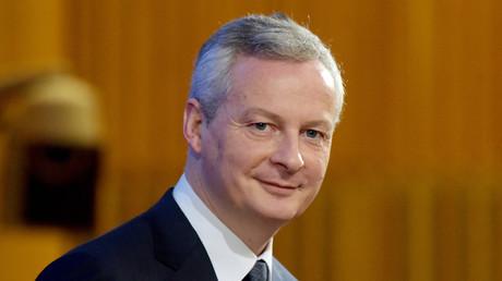 Bruno Le Maire le 8 janvier 2019 à Paris (image d'illustration).