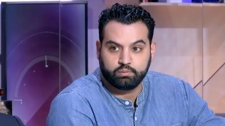 Yassine Belattar sur le plateau de LCI, en novembre 2017, capture d'écran YouTube/LCI, DR