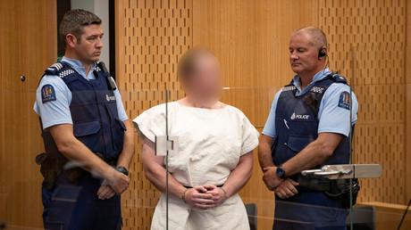 Brenton Tarrant au tribunal de Christchurch le 16 mars (image d'illustration).