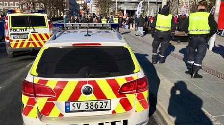 Une voiture de police norvégienne (image d'illustration).
