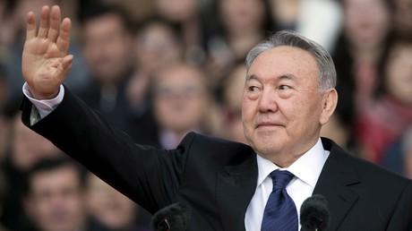 Le président kazakh Noursoultan Nazarbaïev