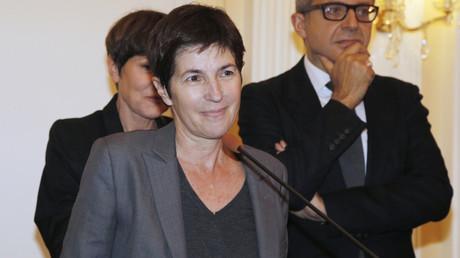 Christine Angot visée par des tags antisémites et appelant à la lyncher à Vannes