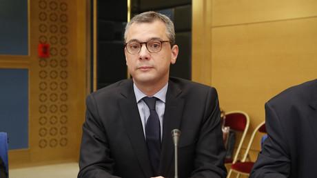 Alexis Kohler, une des personnalités dont le cas a été transmis à la justice, lors de son témoignage devant les sénateurs le 26 juillet 2018.