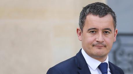 Le ministre français du budget, Gérald Darmanin, le 20 mars 2019 à l'Elysée (image d'illustration).