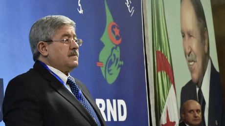 Le Premier ministre algérien Ahmed Ouyahia, à Alger, le 31 janvier 2019 (image d'illustration).