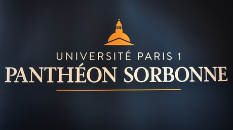 Le logo de l'Université Paris I Panthéon-Sorbonne (image d'illustration).