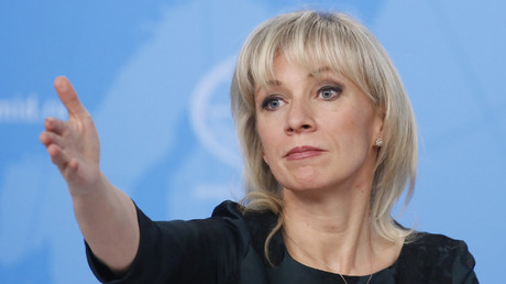 Le porte-parole de la diplomatie russe, Maria Zakharova, le 16 janvier 2019 à Moscou (image d'illustration).