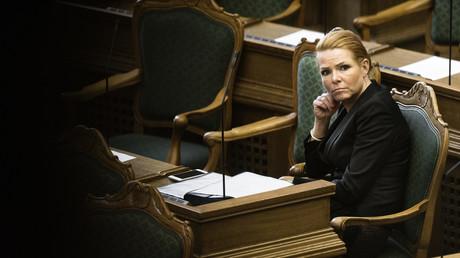 La ministre danoise de l'Immigration, Inger Stojberg, le 26 janvier 2016 à Copenhague (image d'illustration).
