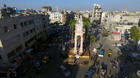 La ville d'Idleb, en Syrie, en juin 2017 (image d'illustration).
