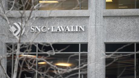 Siège du géant canadien du BTP SNC-Lavalin, accusé de corruption en Libye.