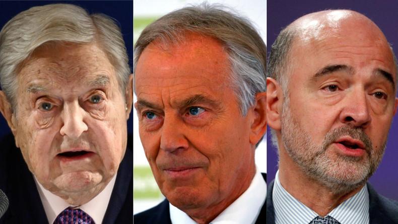 Brexit : cette mystérieuse réunion entre Soros, Blair et Moscovici qui embarrasse l'UE