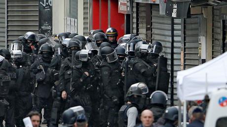 Des policiers du RAID pendant l'assaut de Saint-Denis le 18 novembre 2015 (image d'illustration).