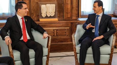 Bachar el-Assad : «Ce qui se passe au Venezuela est similaire à ce qui se passe en Syrie»