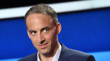 Raphaël Glucksmann lors du débat télévisé du 4 avril.