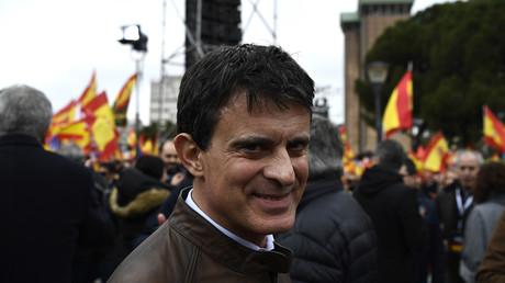 Manuel Valls, candidat à la mairie de Barcelone.