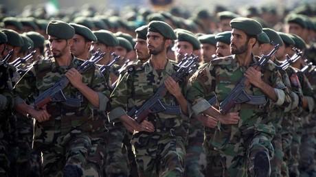 Défilé militaire des Gardiens de la Révolution iraniens en septembre 2007 (image d'illustration).