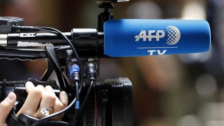 Une caméra de l'AFP (image d'illustration)