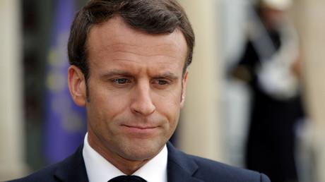 Emmanuel Macron à l'Elysée le 2 avril 2019 (image d'illustration).