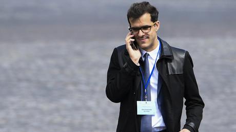 Ismaël Emelien, à l'époque conseiller spécial d'Emmanuel Macron, le 14 mai 2017 à Paris (image d'illustration).