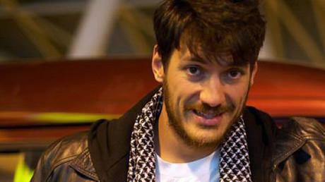 Le journaliste Austin Tice, ici en mars 2012, se trouverait retenu en otage en Syrie selon Washington (image d'illustration).