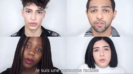 Extrait d'une vidéo antiraciste de l'UNEF.