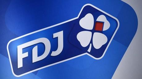 Logo de la société FDJ (image d'illustration).