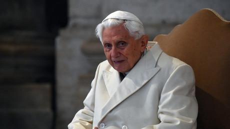 Le pape émérite Benoît XVI.