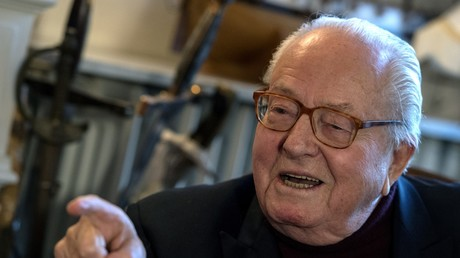 Jean-Marie Le Pen le 9 janvier 2019 à Saint-Cloud (image d'illustration).
