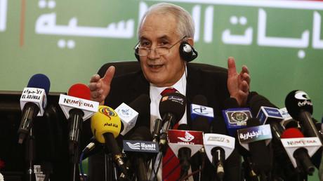 Taïeb Belaiz, le président du Conseil constitutionnel algérien