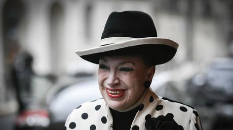 Geneviève de Fontenay en avril 2018.