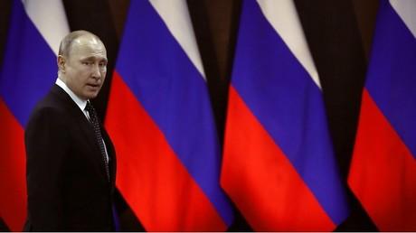 Vladimir Poutine à Vladivostok le 25 avril 2019.