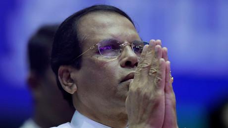Le président sri-lankais Maithripala Sirisena (image d'illustration).