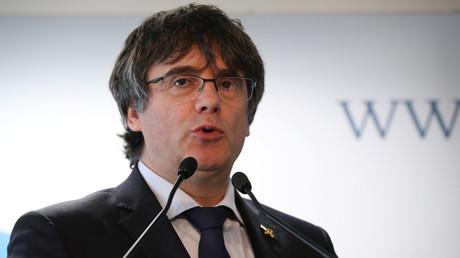 L'ancien président catalan Carles Puigdemont interdit d'être candidat aux européennes