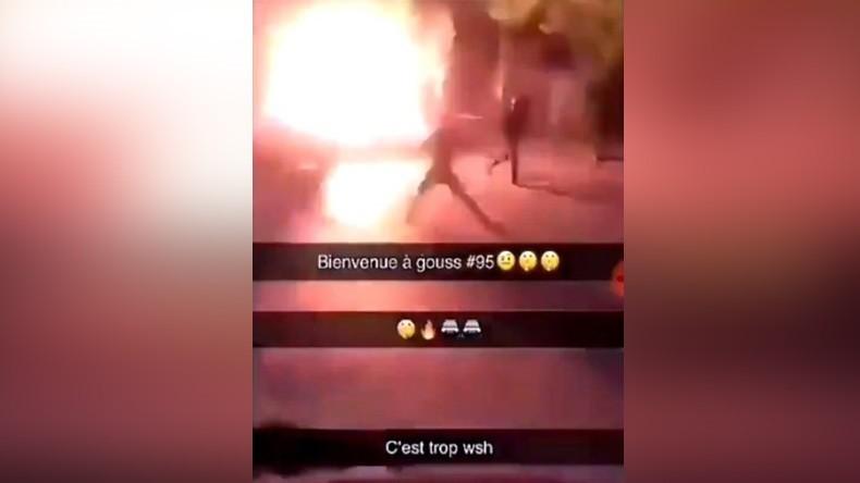 agression au cocktail Molotov commise sur des policiers 5cdc3233488c7b9a2f8b4568