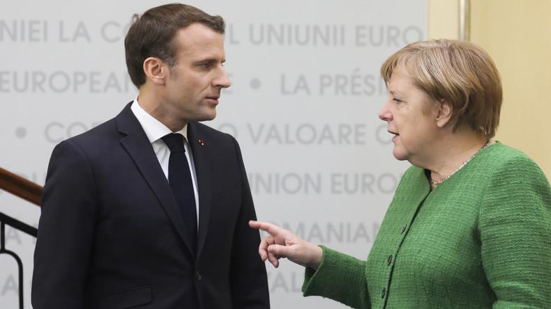 Le tacle de Merkel à Macron à quelques jours des européennes 5cdce8f709fac295568b4568