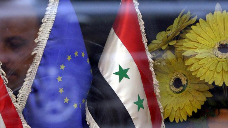 L'Union européenne reconduit les sanctions contre la Syrie pour un an