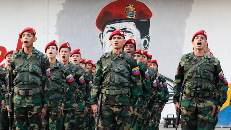 Venezuela : constitution d'une armée parallèle, par Romain Migus