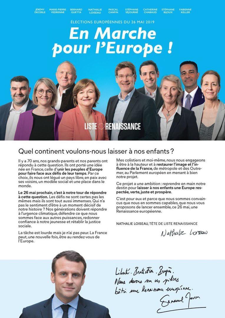 Européennes : le pari risqué d'Emmanuel Macron