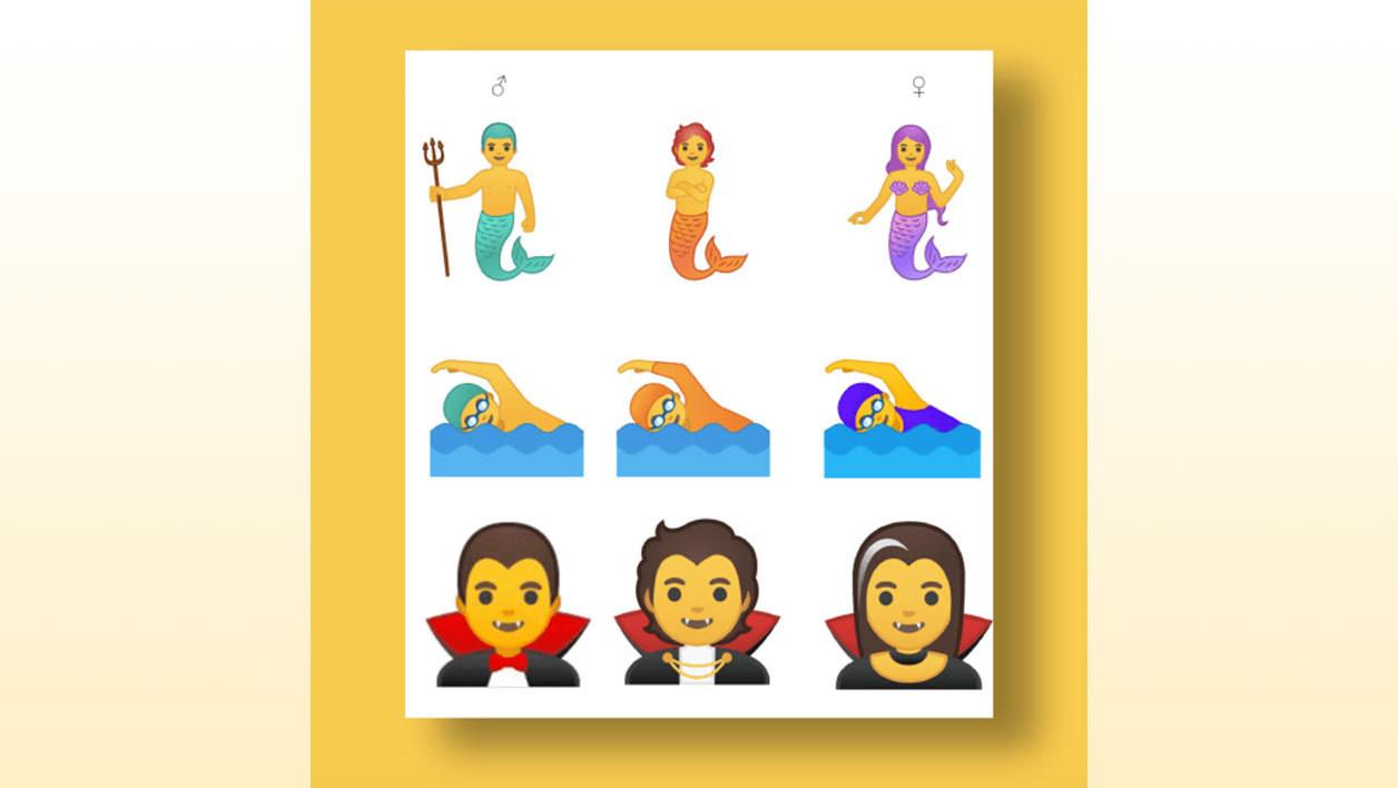 Ni homme ni femme : Google dévoile 53 émojis non genrés (PHOTOS)