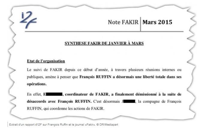 François Ruffin et son journal «Fakir» auraient été espionnés par LVMH, selon Mediapart