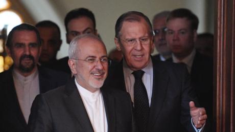 Conférence de presse de Sergueï Lavrov et Mohammad Javad Zarif à Moscou