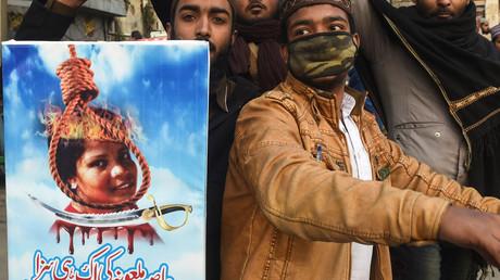 Menacée de mort pour blasphème, la chrétienne Asia Bibi a quitté le Pakistan