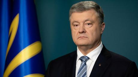Le président ukrainien sortant Petro Porochenko.