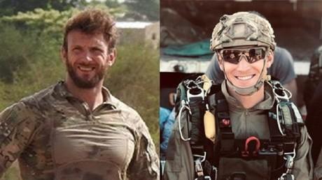 Cédric de Pierrepont et Alain Bertoncello, les deux militaires français ayant perdu la vie dans la libération de quatre otages au Burkina Faso.
