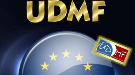 Capture d'écran de la couverture du programme de l'Union des démocrates français musulman (image d'illustration).