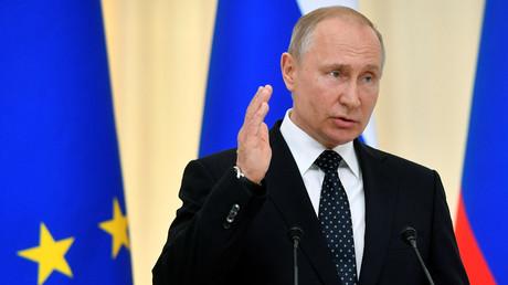 Vladimir Poutine, le 15 mai 2019 à Sotchi.