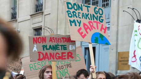 Manifestation pour l'environnement à Paris le 15 février 2019 (image d'illustration).
